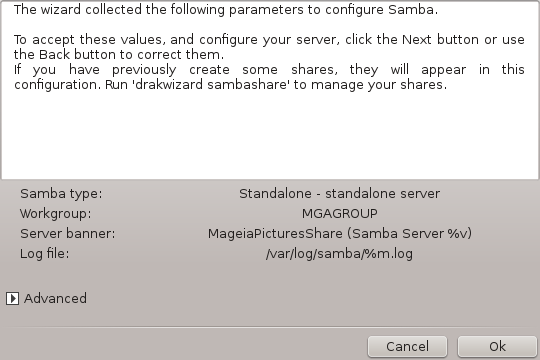 Share directories and drives with Samba