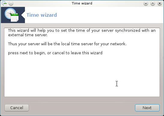 Configure time